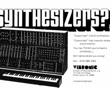 Moog & Vibronic Interview Part 3