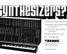 Moog & Vibronic Interview Part 3