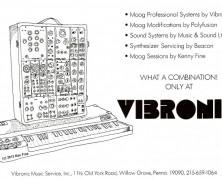 Moog & Vibronic Interview Part 1