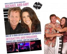 Michael and Amy – Comedy Dueling Pianos