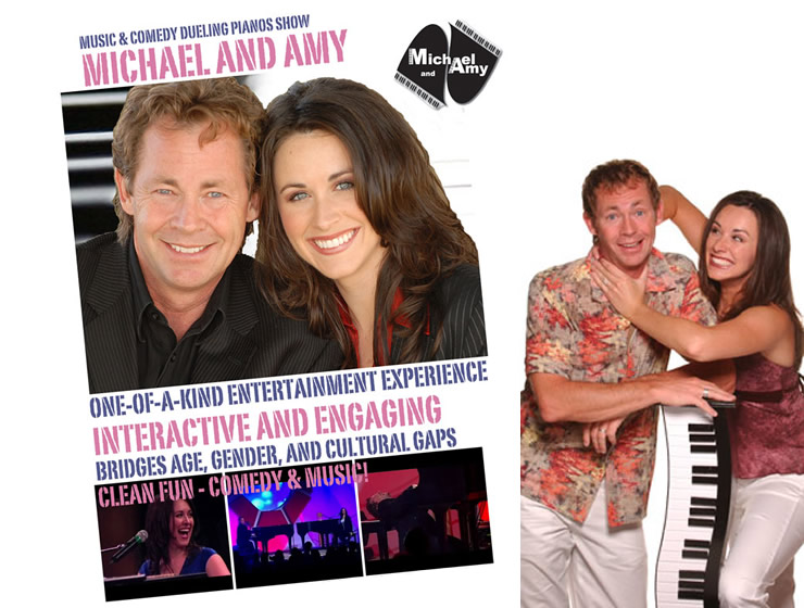 Michael & Amy - Comedy Dueling Pianos