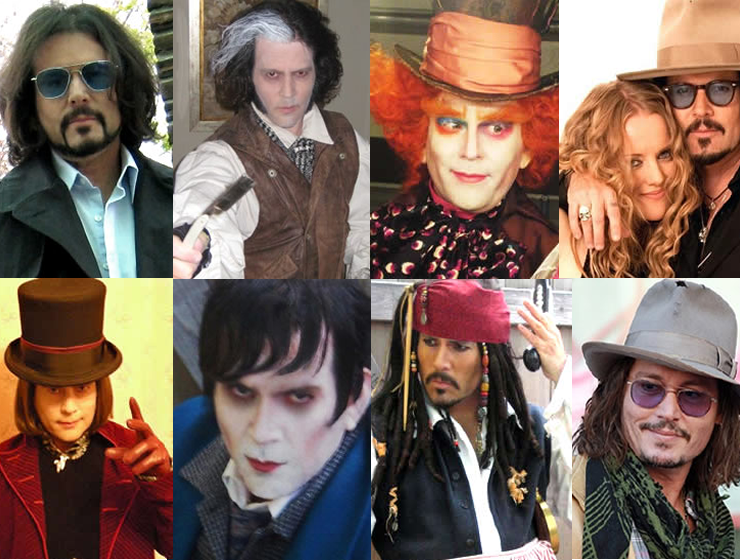 Johnny Depp Impersonator - Danny Lopez